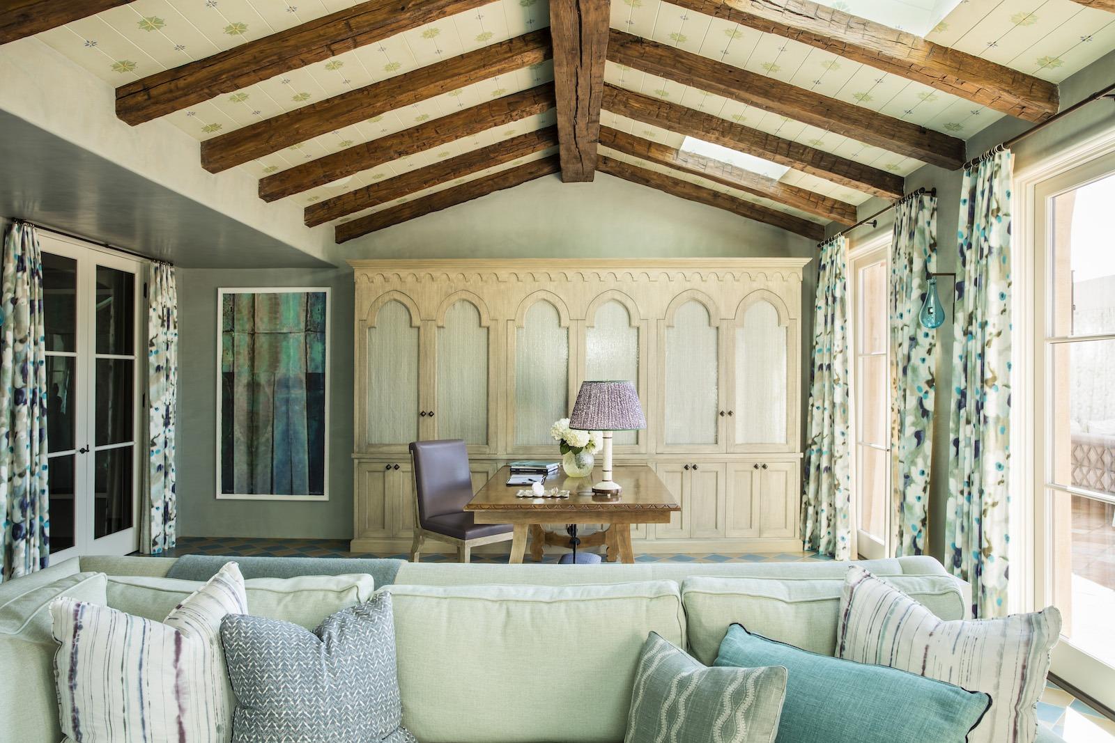 best home office colors- Christine Markatos Design