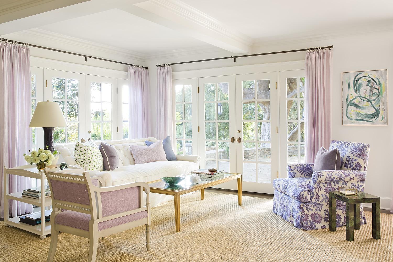All White Living Room Design Ideas | Christine Markatos Design